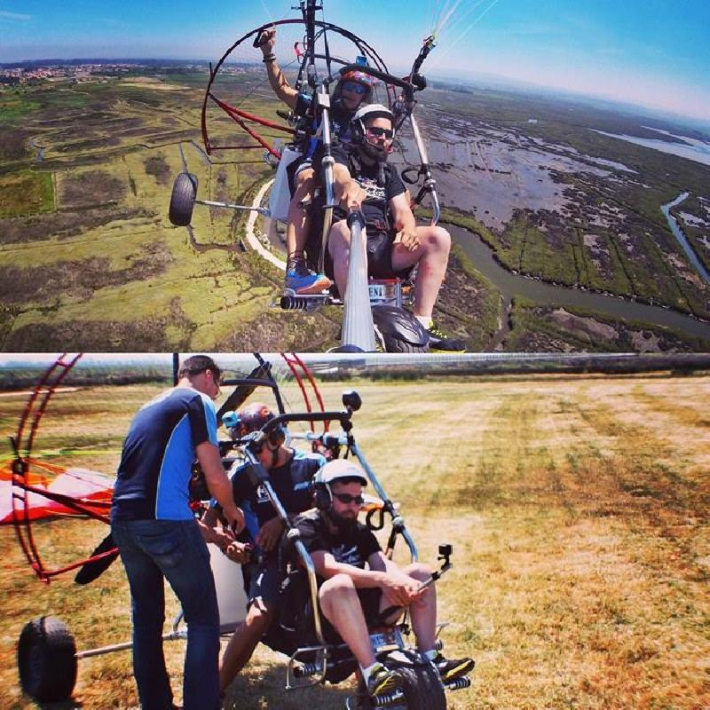Intento record Trike en paramotor