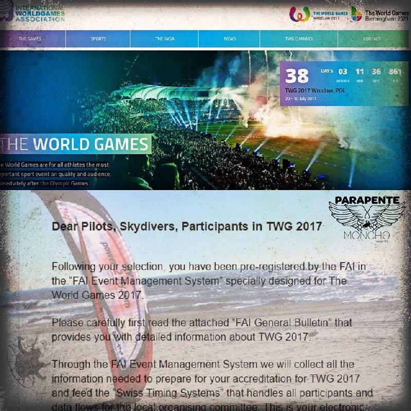 THE WORLD AIR GAMES POLONIA 2017